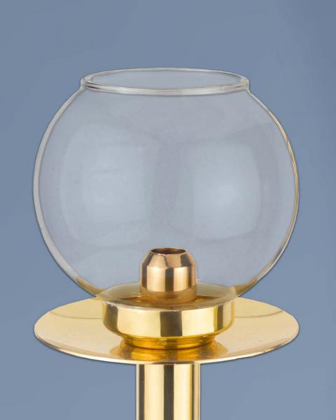 Flambeaux mit glas 50 cm hoch for Couchtisch glas 50 cm hoch